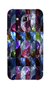 Back Cover for Samsung Galaxy E7 milky way abstract