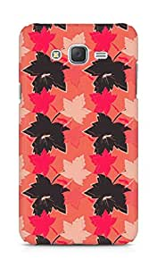 Amez designer printed 3d premium high quality back case cover for Samsung Galaxy J7 (Leaves maple surface texture)