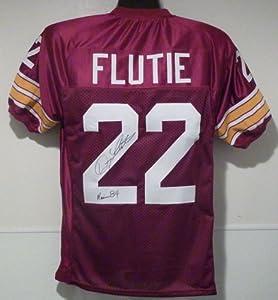 Doug Flutie Autographed Boston College Eagles Size XL Jersey w 84 Heisman by DenverAutographs