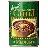 Amy's Organic Chili, Medium, 14.7 Ounce (Pack of 12) ~ Amy's