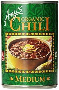 Amy's Organic Chili, Medium, 14.7 Ounce (Pack of 12)
