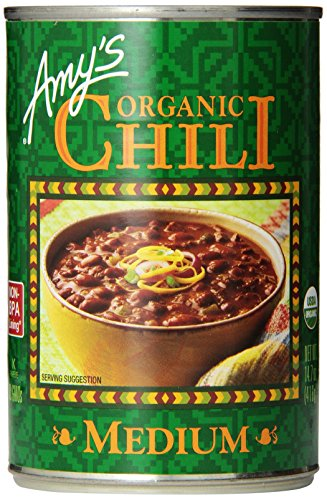 Amy's Organic Chili, Medium, 14.7 Ounce (Pack of 12) (Amy Organic Chili compare prices)