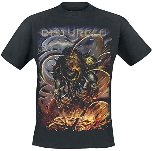 Disturbed -  T-shirt - Uomo Black XX-Large