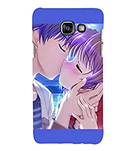 Love Couple 3D Hard Polycarbonate Designer Back Case Cover for Samsung Galaxy A3 (2016) :: Samsung Galaxy A3 2016 Duos :: Samsung Galaxy A3 2016 A310F A310M A310Y :: Samsung Galaxy A3 A310 2016 Edition