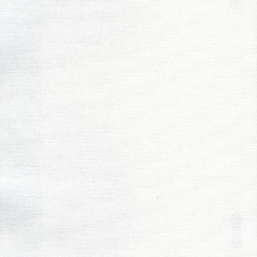 Solid Natural White Gathered Full 18 Inch Cotton Bedskirt front-1001981