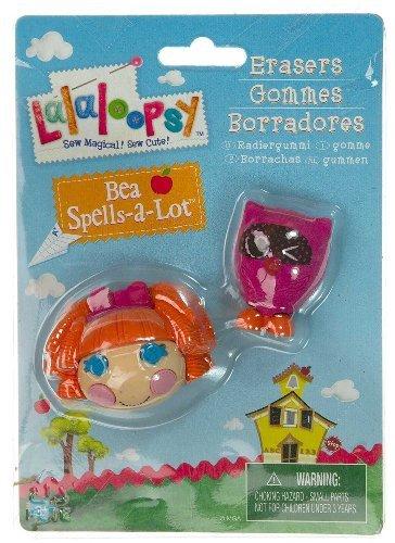 Bea Spells-A-Lot & Pet Owl: Lalaloopsy Erasers Series #1 - 1