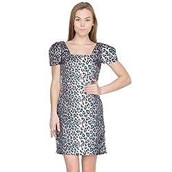 Species Women's A-line Dress (S-584_Black_Large)
