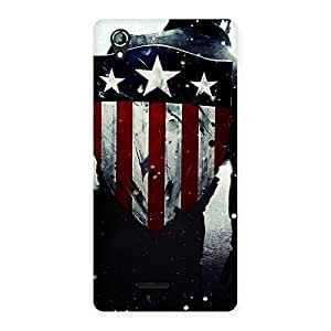 Delighted Strong Sheild Back Case Cover for Lava Iris 800