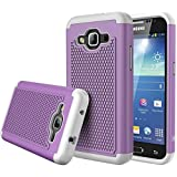 Galaxy Prevail LTE case, iTronic Galaxy Core Prime G360 / Galaxy Prevail Case - Double Tone Dual Layer Hybrid Defender Case for Samsung Galaxy Core Prime G360 / Galaxy Prevail