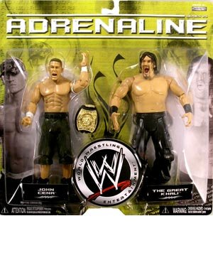 Buy Low Price Jakks Pacific WWE Wrestling Adrenaline Series 25 Action Figure 2-Pack John Cena and Khali (B000UPW09E)