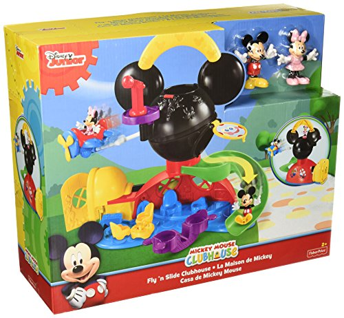 Fisher-Price Disney Mickey Mouse Fly N Slide Clubhouse (Fisher Price Mickey Clubhouse compare prices)