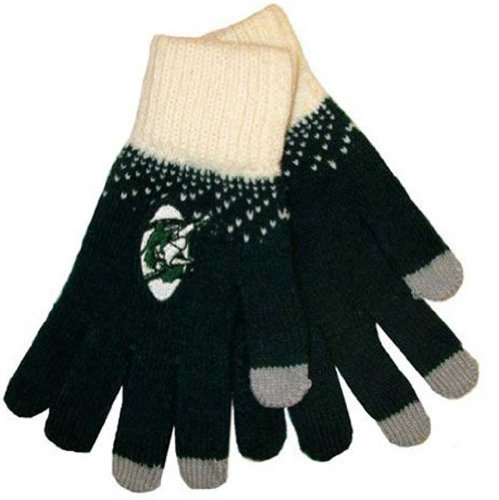 Nfl Green Bay Packers Women'S Magic Mountain Glove, Dark Green front-796700