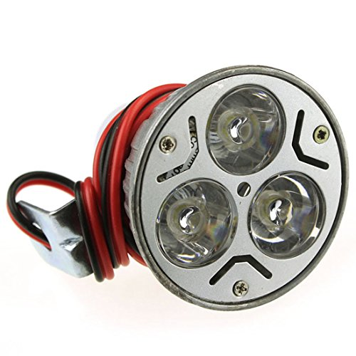Bessky(Tm) New Design 3W Dc12-100V Motorcycle Electric Bike Bicycle Waterproof Led Headlight