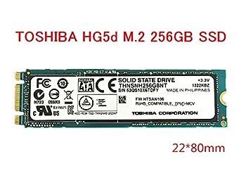 東芝 TOSHIBA HG5d M.2 256GB SSD THNSNH256G8NT M.2 6Gb/s