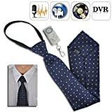 Spy Camera Tie with Wireless Remote - 4GB DVR Built-in by Spy Gadget