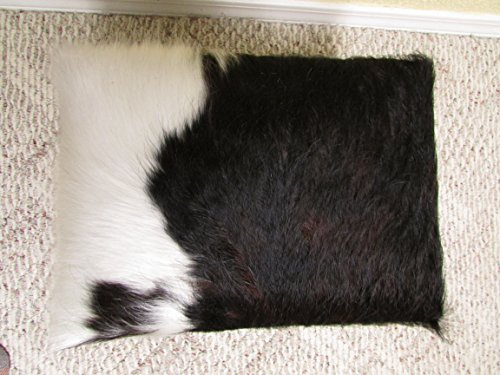 JL Cowhide Creations Adorable Little Cowhide Footstool