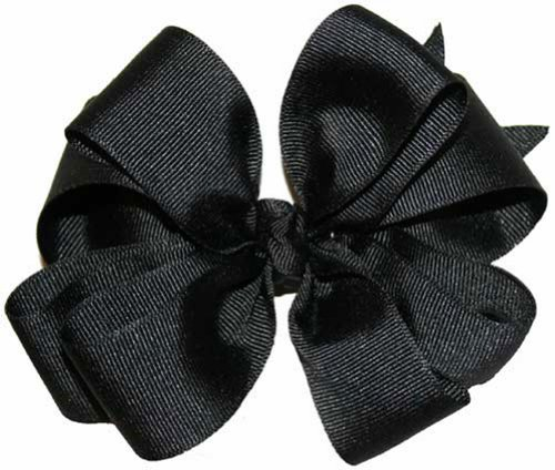 Hair Bow ~ Large GrosGrain Tied Bow (Assorted Colors)