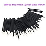 G2PLUS® 100PCS Disposable Lip Brushes Lipstick Gloss Wands Applicator Perfect Makeup Tool Kits