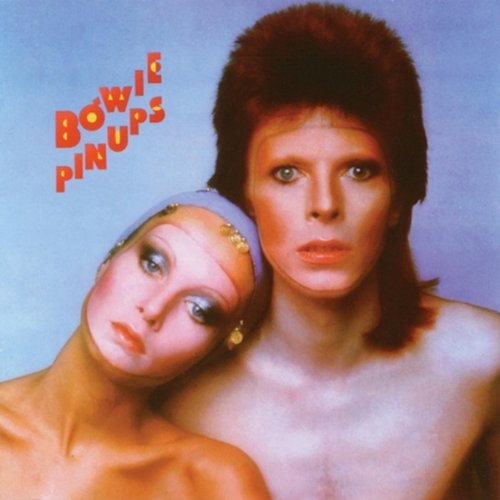 Original album cover of Pin Ups by David Bowie