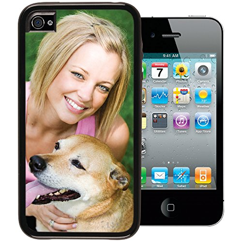 iPhone 4 / 4s PixCase - Personalize It Yourself - Insert photos or create custom inserts at PersonalizeItYourself.com and change anytime - Shock absorbing vinyl edges with clear picture window (Iphone 4s Custom Case compare prices)