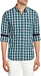 East West Men's Casual Shirt (EW-POP-014_38)