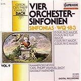 """4 Orchester-Sinfonienvon """"Haenchen"""""""