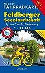 Pocket-Fahrradkarte Feldberger Seenla...