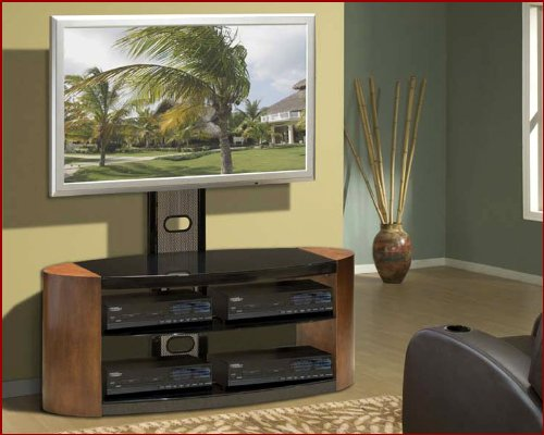 Image of Encore Entertainment - Contemporary Mixed Media TV Stand AP-TVS-47 (B002UXJEBG)