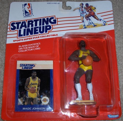 Starting Lineup 1988 Basketball Carded Magic Johnson by Kenner (English Manual) online kaufen