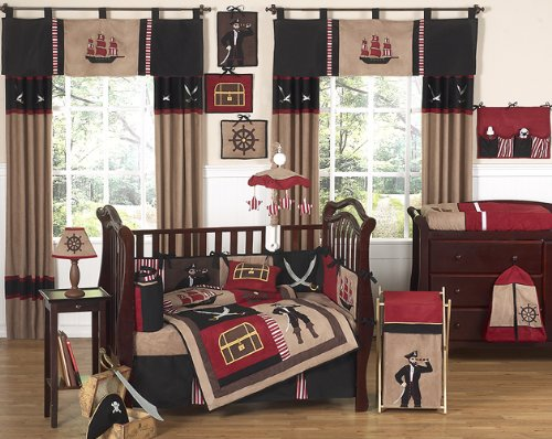 Pirate Crib Set by Jojo Designs