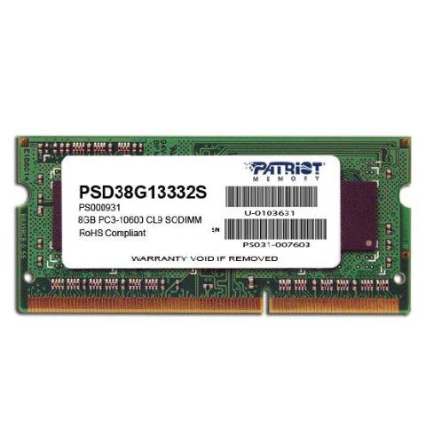Patriot Memory PSD38G13332S Memory Signature 8GB DDR3 SDRAM Memory Module