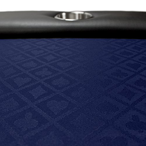 Brybelly 10 feet navy polyester suited speed cloth for 10 foot table cloth