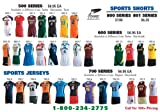 Dynamic Team Sports Volleyball Uniform Packages (Call 1-800-234-2775 to order)