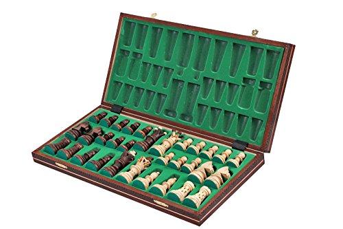 The Jarilo - Unique Wood Chess Set, Pieces, Chessboard & Storage 1