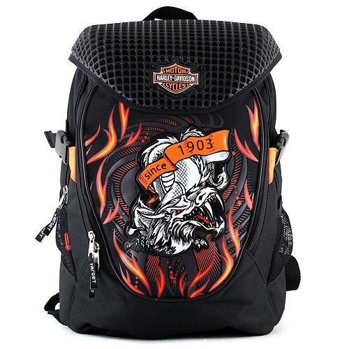 harley-davidson-mochila-tipo-casual-23-litros-color-negro-naranja