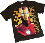 Bust Shot (Glow-In-The-Dark) -- Iron Man 2 Youth T-Shirt