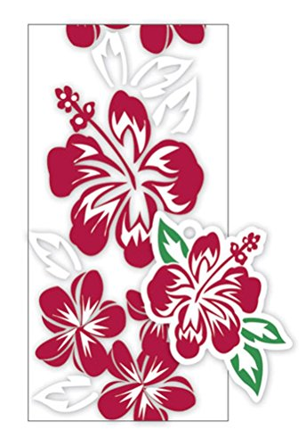 Hawaiian Candy Lei Making Kit - 5 Red Hibiscus Lei Kits