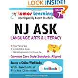 NJ ASK Practice Tests and Online Workbooks: Grade 7 Language Arts and Literacy, Third Edition: Common Core State...