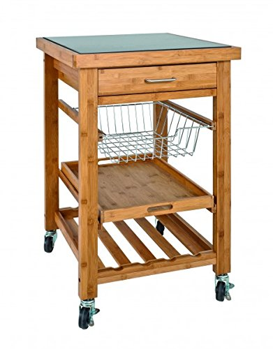 Kitchen Trolley Fuller Ton XL Bamboo 36