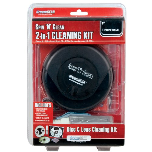 Spin 'n' Clean 2 in 1 Cleaning Kit