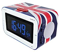 Bigben Interactive - Rr30 Grande Bretagne - Radio Rveils - Rouge Bleu Et Blanc