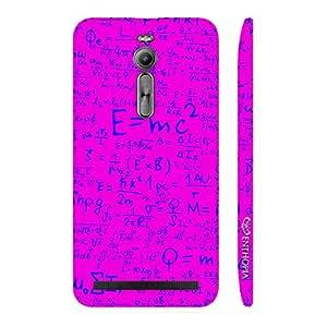 Enthopia Designer Hardshell Case Einstein Energy Pink Back Cover for Asus Zenfone 2