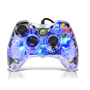 Afterglow AX.1 Controller for Xbox 360 &#8211; Blue New for 2010