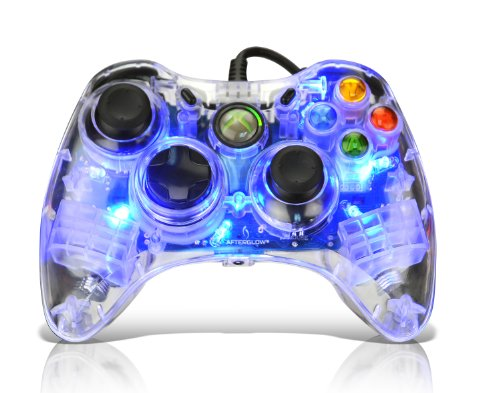 "Afterglow AX.1 Controller for Xbox 360 - Blue ""New for 2010"""