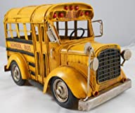 Vintage Looking Yellow School Bus