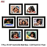 Ajanta Royal Classic set of 7 Individual Photo Frames (7-8x10 Inch) - WPC-15