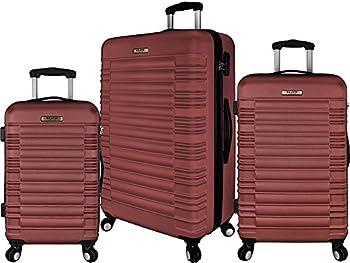 Elite Luggage 3 Piece Hardside Spinner Luggage Set