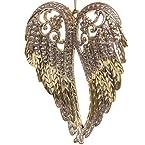 Plastic Angel Wings Ornament