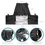 Altura Photo® Professional Rain Cover for Large DSLR Cameras (Canon Nikon Sony Pentax Olympus Fuji) - Including CANON REBEL EOS T5i T4i T3i T3 T2i T1i SL1 XT XTi 70D 60D 7D 6D 5D Mark III, NIKON D7100 D7000 D5300 D5200 D5100 D5000 D3300 D3200 D3100 D3000 D90 D80
