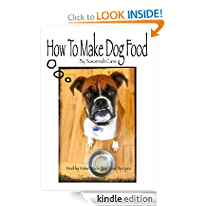 how to make healthy dog food